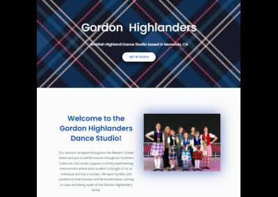Gordon Highlanders Dance Studio